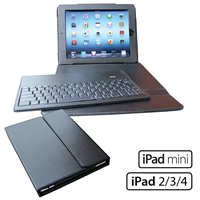 iPad Leather Keyboard Portfolio