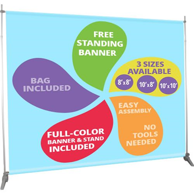 Free Standing Banner